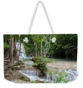 Erawan National Park In Thailand Weekender Tote Bag