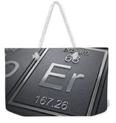 Erbium Chemical Element Weekender Tote Bag