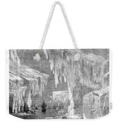 Erebus And Terror In The Ice 1866 Weekender Tote Bag