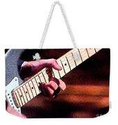 Eric Clapton Playing Guitar Weekender Tote Bag