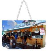 Erics On The Pier Weekender Tote Bag