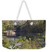 Erie Canal At Bushnell Basin Weekender Tote Bag