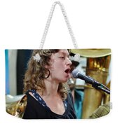 Erika Lewis With Tuba Skinny Weekender Tote Bag