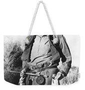 Ernest Hemingway Fishing Weekender Tote Bag