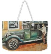 Ernests First Bus Weekender Tote Bag