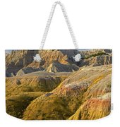 Eroded Buttes Badlands National Park Weekender Tote Bag