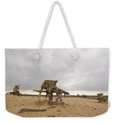 Eroded Tree Stumps Stand On Their Roots Weekender Tote Bag