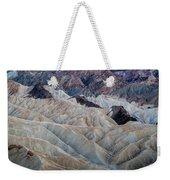Erosional Landscape - Zabriskie Point Weekender Tote Bag