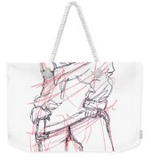 Erotic Art Drawings 6 Weekender Tote Bag