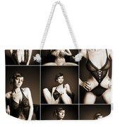 Erotic Beauty Collage 14 Weekender Tote Bag