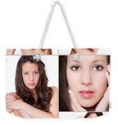 Erotic Beauty Collage 19 Weekender Tote Bag