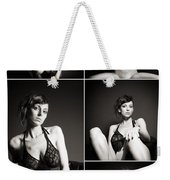Erotic Beauty Collage 24 Weekender Tote Bag