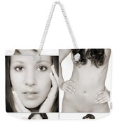 Erotic Beauty Collage 28 Weekender Tote Bag