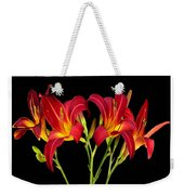Erotic Red Flower Selection Romantic Lovely Valentine's Day Print Weekender Tote Bag