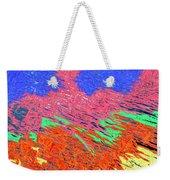 Erupting Lava Meets The Sea Weekender Tote Bag by Joseph Baril