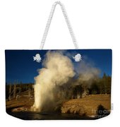Eruption Along The Firehole Weekender Tote Bag