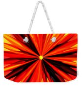 Eruption In Red Weekender Tote Bag