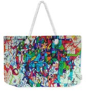 Escape From Hatred 1 Weekender Tote Bag by David Baruch Wolk