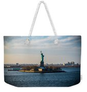 Escape From Ny Weekender Tote Bag