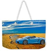 Escape Into Blue Weekender Tote Bag