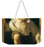 Escaping Criticism Weekender Tote Bag