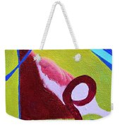 Escaping Tradition Weekender Tote Bag