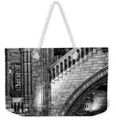Escheresq Bw Weekender Tote Bag by Heather Applegate