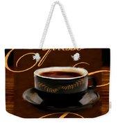 Espresso Passion Weekender Tote Bag
