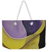 Essence Of Violet Weekender Tote Bag