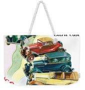Essex Challenger Vintage Poster Weekender Tote Bag
