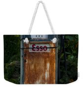 Esso Gas Pump Weekender Tote Bag
