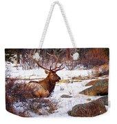 Estes Park Elk Weekender Tote Bag