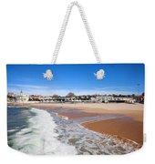 Estoril Beach In Portugal Weekender Tote Bag