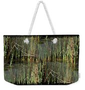 Estuaries Edge Weekender Tote Bag