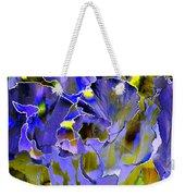 Etchings Of Purple And Green Weekender Tote Bag