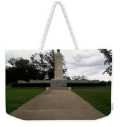 Eternal Light Peace Memorial Weekender Tote Bag
