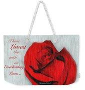 Eternal Valentine Weekender Tote Bag