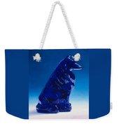 Eternally Blue Weekender Tote Bag