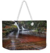 Ethereal Autumn Square Weekender Tote Bag