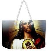 Ethereal Jesus Weekender Tote Bag