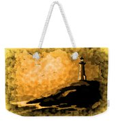 Ethereal Lighthouse Weekender Tote Bag