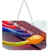 Ethernet Weekender Tote Bag