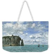 Etretat. The Cliff Of Aval Weekender Tote Bag