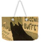 Eugenie Buffet Poster Weekender Tote Bag