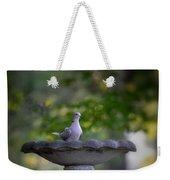 Eurasian Collared Dove Weekender Tote Bag
