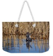 Eurasian Coot And The Bubles Weekender Tote Bag