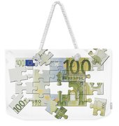 Euro Puzzle Weekender Tote Bag