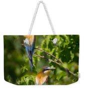 European Bee-eater Weekender Tote Bag