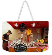 A European Butcher Weekender Tote Bag