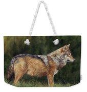 European Grey Wolf Weekender Tote Bag